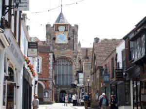 ライの観光スポット聖メアリー教会