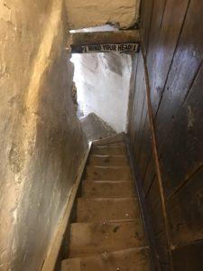 ライの観光スポット聖メアリー教会、狭い階段を登って展望台へ