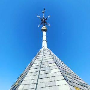 ライで登った教会の上にある展望台