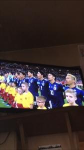 ロンドンでワールドカップの日本戦を観戦