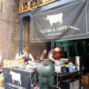 Maltsby street marketの人気ステーキ店
