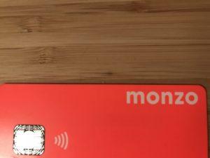 色が鮮やかなモンゾカード