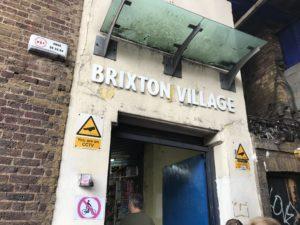 ブリクストンマーケットの入り口
