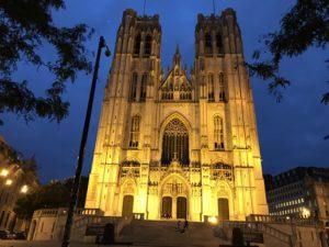 サン・ミッシェル大聖堂の夜景