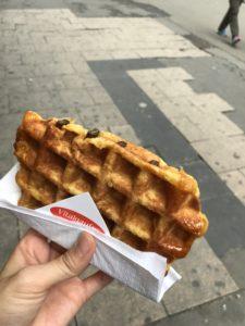 ブリュッセルの美味しいワッフル