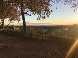 リッチモンドヒルからの綺麗な景色