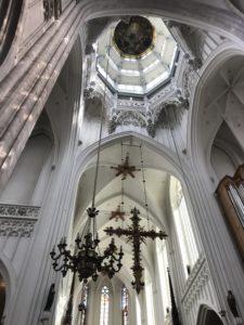 フランダースの犬のラストシーンに登場する大聖堂
