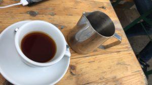 アントワープの美味しいコーヒー
