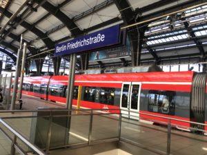 ベルリン市内からヴァンゼーへ