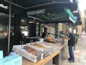 Borough marketでゲットできるロンドンで1番美味しいドーナツ