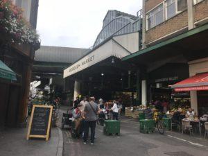 Borough marketの入り口