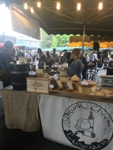 Borough marketの美味しいチーズ屋さん