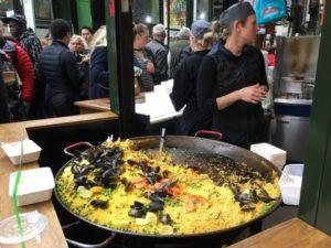 Borough marketの美味しいスペイン料理のお店