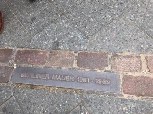 ベルリンの壁の跡地