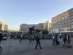 ベルリン中心地