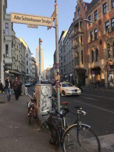 ベルリンの街中の様子