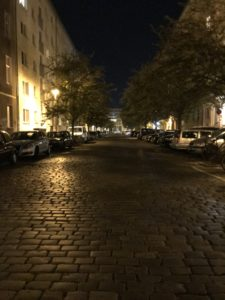 ベルリンの夜の街並み