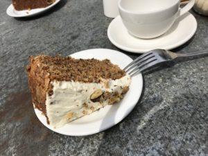 美味しいキャロットケーキ