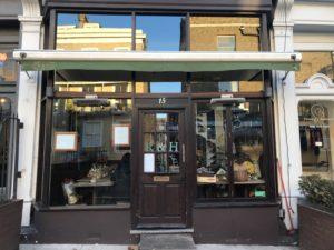 R&Hカフェの外観