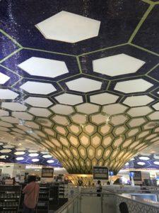 エティハド空港の様子